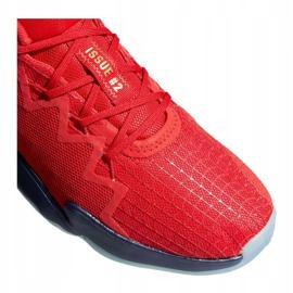 Buty do koszykówki adidas D.O.N. Issue #2 M FX6519 wielokolorowe czerwone 3