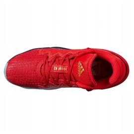 Buty do koszykówki adidas D.O.N. Issue #2 M FX6519 wielokolorowe czerwone 4