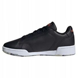 Buty adidas Roguera Jr FY7184 białe czarne 5