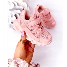 Dziecięce Sneakersy Ze Świecącą Podeszwą Led Różowe So Cool! 1