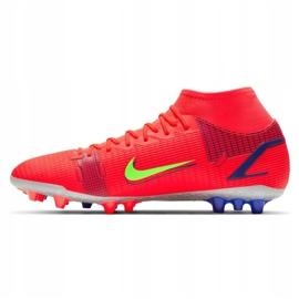 Buty piłkarskie Nike Superfly 8 Academy Ag M CV0842-600 wielokolorowe czerwone 1