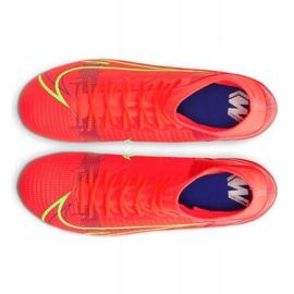 Buty piłkarskie Nike Superfly 8 Academy Ag M CV0842-600 wielokolorowe czerwone 2