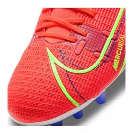 Buty piłkarskie Nike Superfly 8 Academy Ag M CV0842-600 wielokolorowe czerwone 4