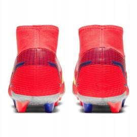 Buty piłkarskie Nike Superfly 8 Academy Ag M CV0842-600 wielokolorowe czerwone 5