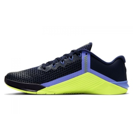 Buty treningowe Nike Metcon 6 W AT3160-400 czarne wielokolorowe zielone 1