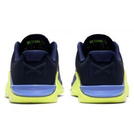 Buty treningowe Nike Metcon 6 W AT3160-400 czarne wielokolorowe zielone 2