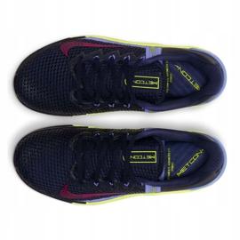 Buty treningowe Nike Metcon 6 W AT3160-400 czarne wielokolorowe zielone 3