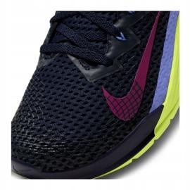 Buty treningowe Nike Metcon 6 W AT3160-400 czarne wielokolorowe zielone 5