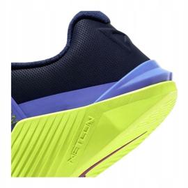 Buty treningowe Nike Metcon 6 W AT3160-400 czarne wielokolorowe zielone 6