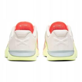 Buty treningowe Nike Metcon 6 W AT3160-800 pomarańczowe wielokolorowe 4