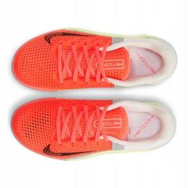 Buty treningowe Nike Metcon 6 W AT3160-800 pomarańczowe wielokolorowe 5