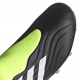 Buty piłkarskie adidas Copa Sense.3 Ll Fg Jr FX1982 wielokolorowe czarne 3