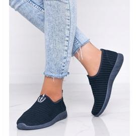 Granatowe sneakersy sportowe Do it 1