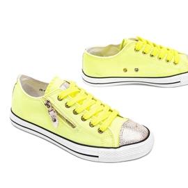 Żółte neonowe trampki So comfy 2