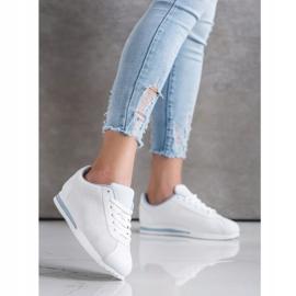 SHELOVET Stylowe Ażurowe Sneakersy białe 3