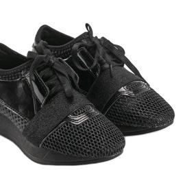 Czarne sneakersy dziecięce Kelli 2