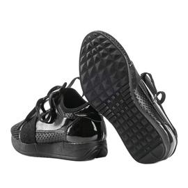 Czarne sneakersy dziecięce Kelli 3