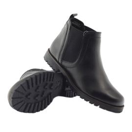 Caprice botki buty damskie zimowe 25468 czarne 3
