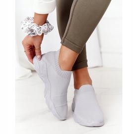 PS1 Damskie Sportowe Buty Slip-on Szare Yoga Class 2