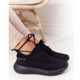 PS1 Damskie Sportowe Buty Sneakersy Czarne Amazing 5