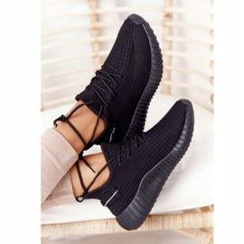 PS1 Damskie Sportowe Buty Sneakersy Czarne Amazing 4
