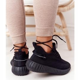 PS1 Damskie Sportowe Buty Sneakersy Czarne Amazing 1