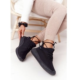 PS1 Damskie Sportowe Buty Sneakersy Czarne Amazing 3