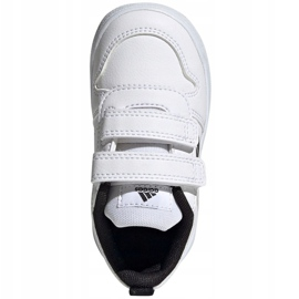 Buty adidas Tensaur I Jr S24052 białe granatowe 1