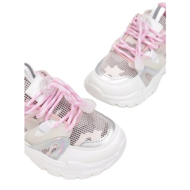Vices C-9169-83-white/pink białe różowe 1