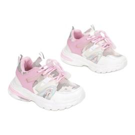 Vices C-9169-83-white/pink białe różowe 2