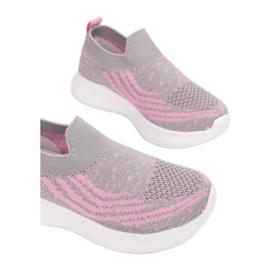 Vices C-9139-153-grey/pink różowe szare 1