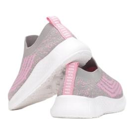 Vices C-9139-153-grey/pink różowe szare 2