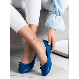 Diamantique Klasyczne Balerinki niebieskie 3