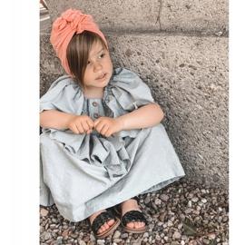 FR1 Dziecięce Sandały Z Plecionką Czarne Bailly 9