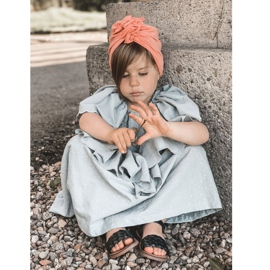 FR1 Dziecięce Sandały Z Plecionką Czarne Bailly 10