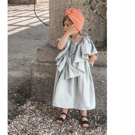 FR1 Dziecięce Sandały Z Plecionką Czarne Bailly 3