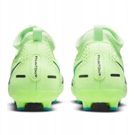 Buty piłkarskie Nike Phantom Gt Academy Df Mg Jr CW6694-303 wielokolorowe zielone 2