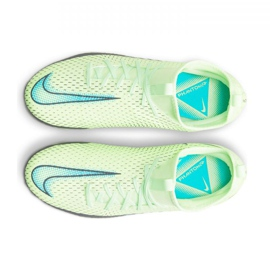 Buty piłkarskie Nike Phantom Gt Academy Df Mg Jr CW6694-303 wielokolorowe zielone 3