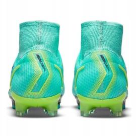 Buty piłkarskie Nike Mercurial Superfly 8 Elite Fg M CV0958 403 wielokolorowe niebieskie 3