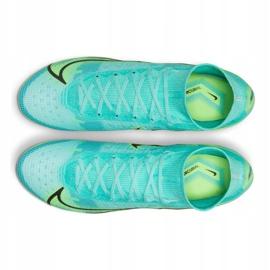 Buty piłkarskie Nike Mercurial Superfly 8 Elite Fg M CV0958 403 wielokolorowe niebieskie 4