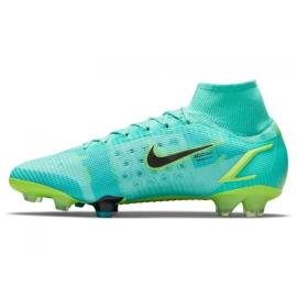 Buty piłkarskie Nike Mercurial Superfly 8 Elite Fg M CV0958 403 wielokolorowe niebieskie 5
