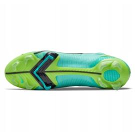 Buty piłkarskie Nike Mercurial Superfly 8 Elite Fg M CV0958 403 wielokolorowe niebieskie 6