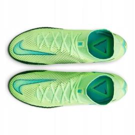 Buty piłkarskie Nike Phantom Gt Elite Dynamic Fit Fg M CW6589 303 wielokolorowe zielone 4