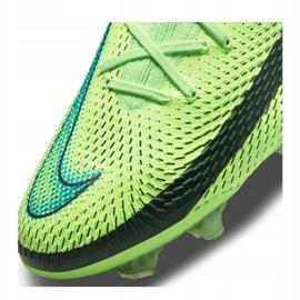 Buty piłkarskie Nike Phantom Gt Elite Fg M CK8439 303 wielokolorowe zielone 2