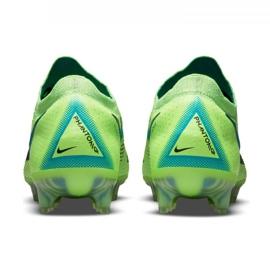 Buty piłkarskie Nike Phantom Gt Elite Fg M CK8439 303 wielokolorowe zielone 3