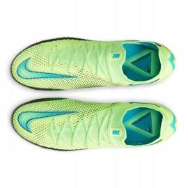 Buty piłkarskie Nike Phantom Gt Elite Fg M CK8439 303 wielokolorowe zielone 4