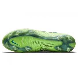 Buty piłkarskie Nike Phantom Gt Elite Fg M CK8439 303 wielokolorowe zielone 5