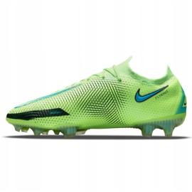 Buty piłkarskie Nike Phantom Gt Elite Fg M CK8439 303 wielokolorowe zielone 6