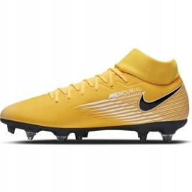 Buty piłkarskie Nike Mercurial Superfly 7 Academy Sg Pro Ac M BQ9141 801 wielokolorowe żółte 2