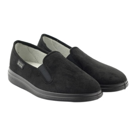 Befado buty męskie zdrowotne kapcie 991M002 czarne 4